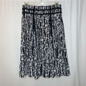 Lapis Abstract Print Skirt Size S